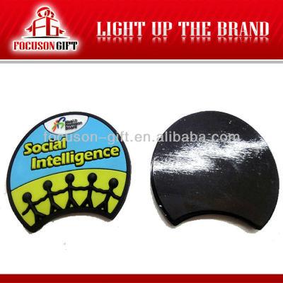 Eco-Friendly Custom crystal heart shape Promotional Fridge Magnets