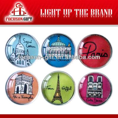 Promotion Item Custom crystal View refrigerator magnets