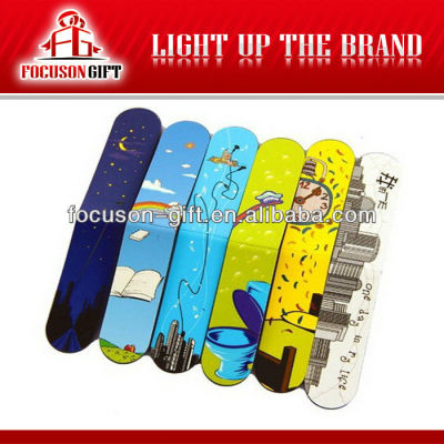 Promotion Item Colorful Printed Folding bookmarks