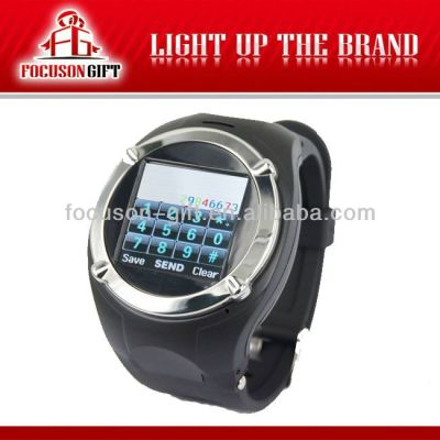 New Arrival MP4/GPS watch phone waterproof