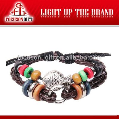 High Quality Handmade leather bangle