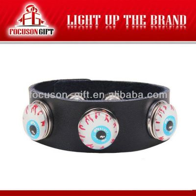 Promotional Gift Handmade leather bracelet