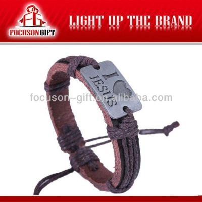 Custom logo Handmade charming bracelet