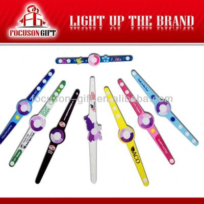 Colorful promotion item silicone bracelet