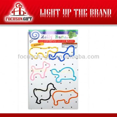 Promotion animal shape rubber bands