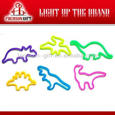 Promotion animal shape rubber bracelets