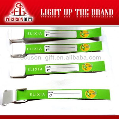 Cheap Promotional disposable paper bracelet