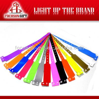 Cheap Promotional disposable paper event bracelets