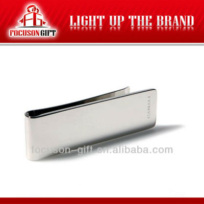 Custom Promotion product Metal money clip