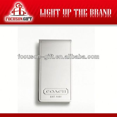 Custom Promotion money clip wallet