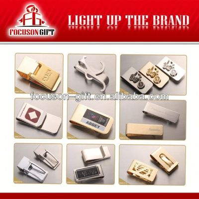 Custom Promotion stainless steel money clips