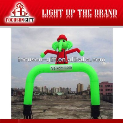 Good Quality Inflatable Promotional inflatable wave man
