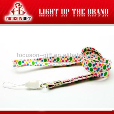 Promotional Gift Nylon neck lanyard