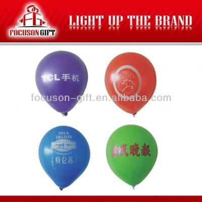Customized 100% Natural Latex inflatable balloon