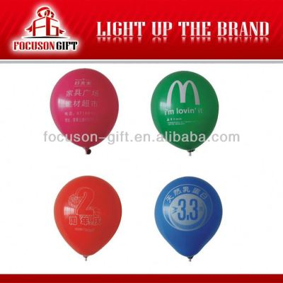 Customized 100% Natural Latex party balloon