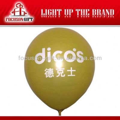 Customized 100% Natural Latex inflatable balloons