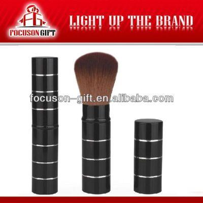 Promotional retractable professional makeup brush set