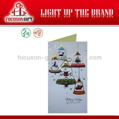 Promotional Christmas Gift pop up greeting cards
