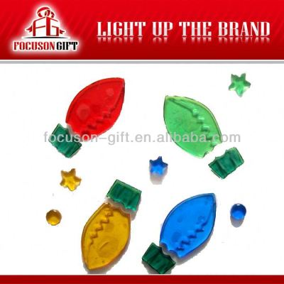 Christmas windows Jelly gel epoxy sticker