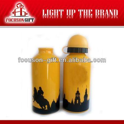 Portable 350ml-1000ml Logo Printed 400ml aluminum water bottles
