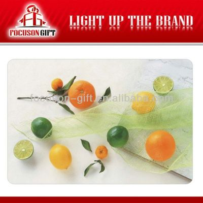 Promotional Full color Printing custom printed placemats