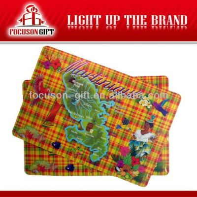 Promotional Full color Printing placemat