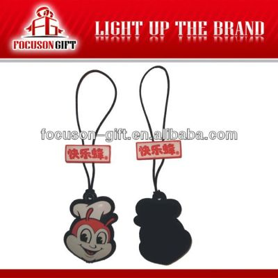 Cell Accessories Small Gift pvc mobile phone pendant