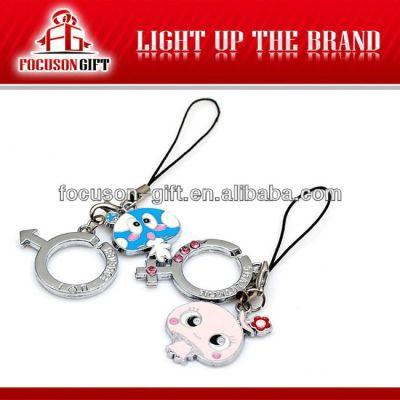 Custom Design Cellphone Gift promotional mobile phone pendant