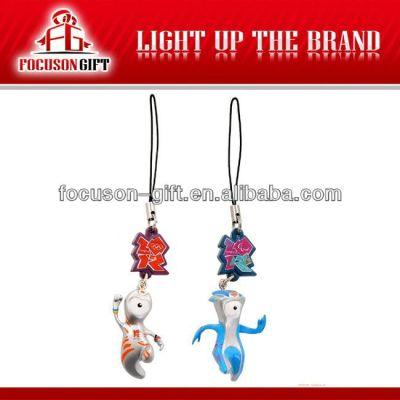 Custom Design Cellphone Gift promotional mobile phone pendants