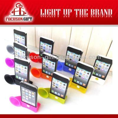 New phone accessories silicone megaphone