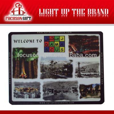 Customized logo printed mousepad
