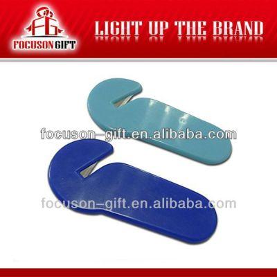 Promotional Custom logo custom shape letter opener