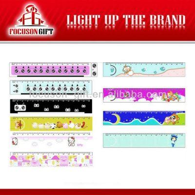 Promotional logo printing ruler
