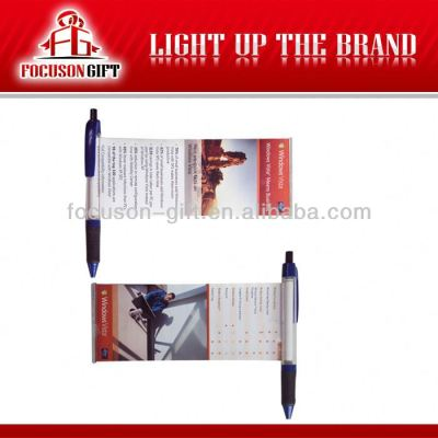 Promotional banner ball pen