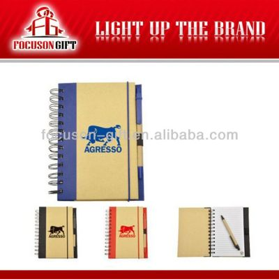 Promotional logo Printing notebook