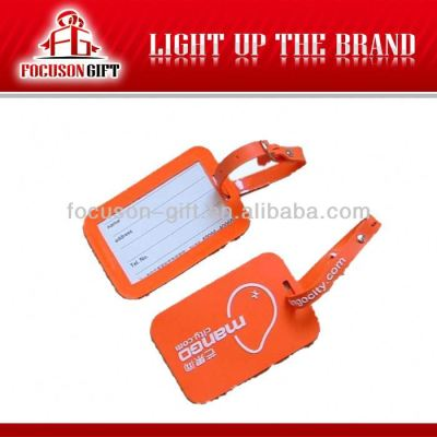2013 Customized pp luggage tag