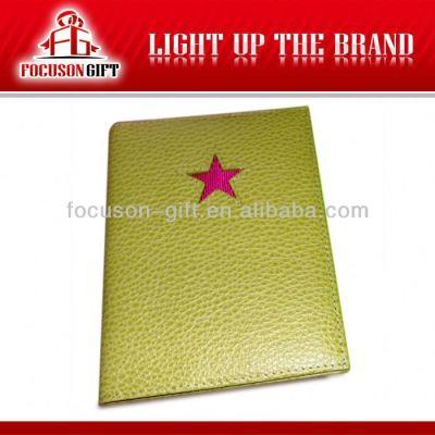 PU leather travel passport holder