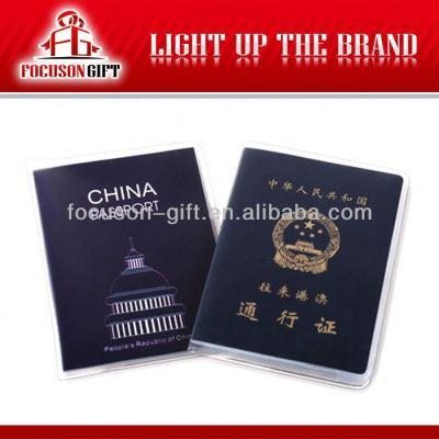 PU leather travel passport case