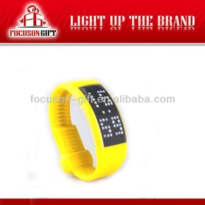 Health Promotional Gift Custom logo sleep mode bracelet calorie pedometer