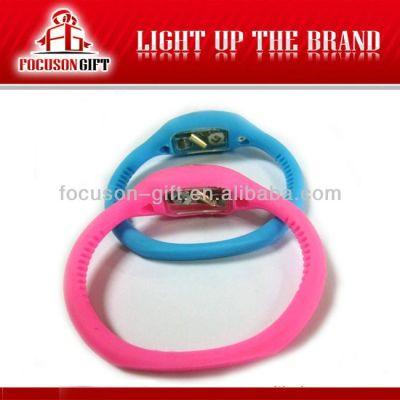Health Promotional Gift Custom logo bluetooth pedometer bracelet