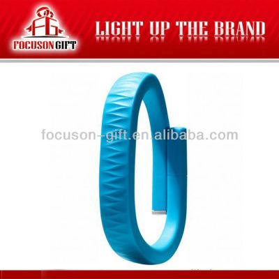 Health Promotional Gift Custom logo bracelet pedometer watch