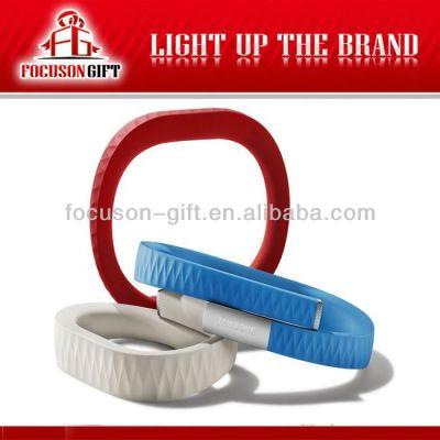 Health Promotional Gift Custom logo bracelet type pedometer