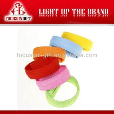 Hot Sale Logo Available Flashing LED flash armlet