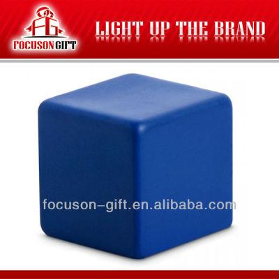Promotional item square anti stress balle