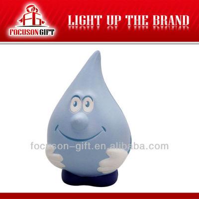 Promotional item water drop promotional stress balls