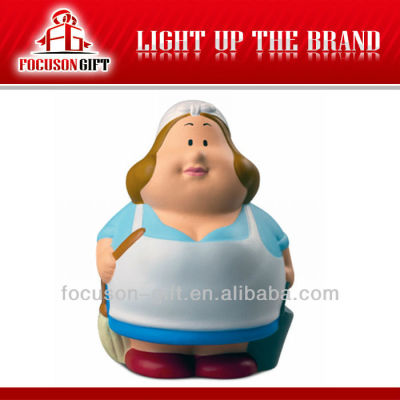 Promotional item shaped antistressball