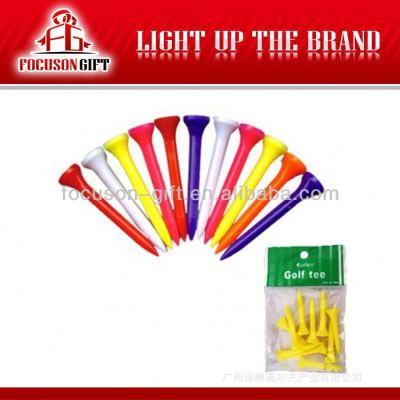 Colorful custom logo golf tee