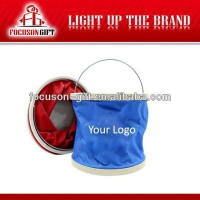 Customized logo promotion item folding buckets