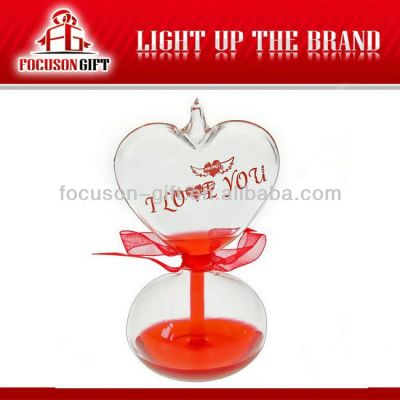 Lover Gift Glass Love Thermometer love meter