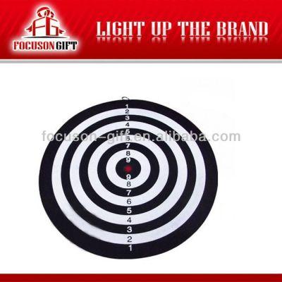 Popular advertising magnetic mini magnetic dartboard